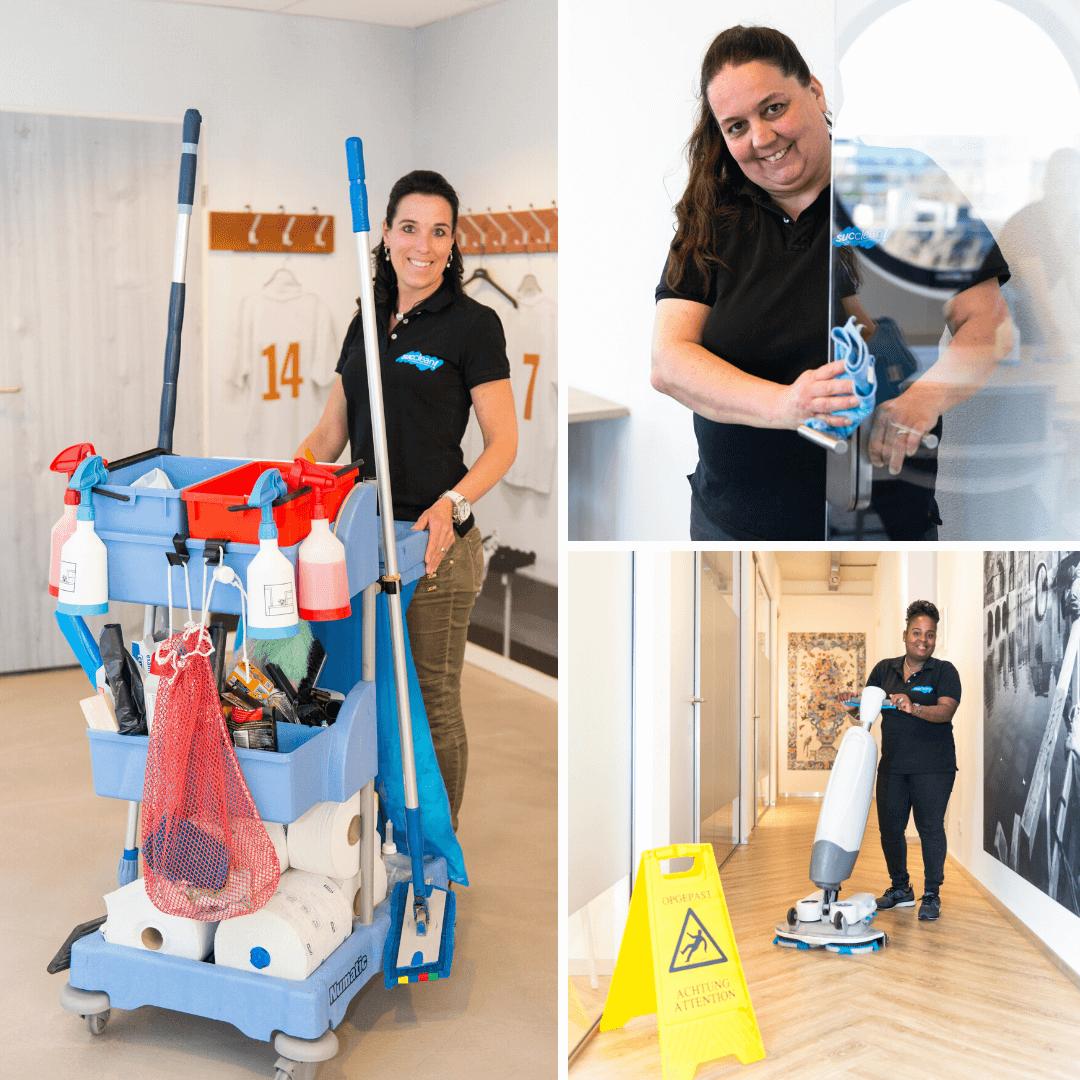 Uw schoonmaakbedrijf altijd beschikbaar